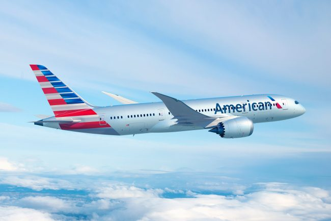 test compagnie aérienne american airlines