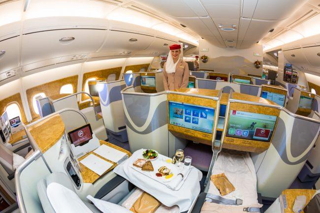 test compagnie aérienne emirates
